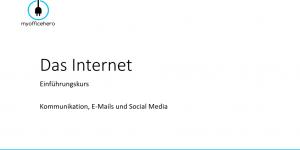 Das Internet für Einsteiger - Teil 3.1: Kommunikation, E-Mais und Soziale Netzwerke