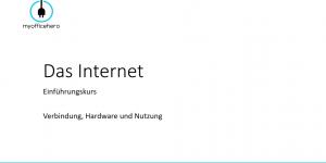 Das Internet für Einsteiger - Teil 2: Verbindung, Hardware und Nutzung